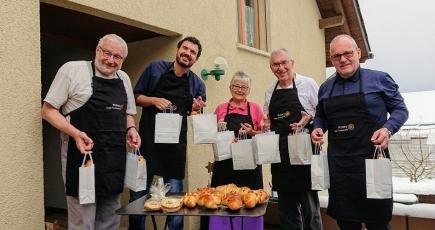 Weihnachtsaktion des Rotary Clubs Fürstenland 2020