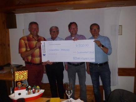 Gemeinsam Kiwanis, Rotary und Lions Arosa